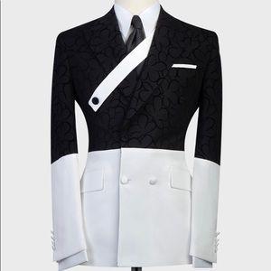 Other - Men's Black White Tuxedo + Pants